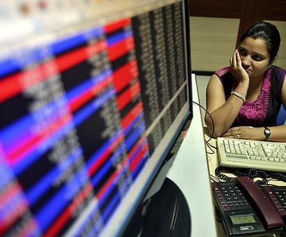 Sensex slides after 4 days of gains