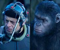 No monkey business this Planet of the Apes left Andy Serkis in agony