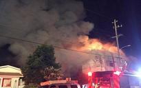 California: Fire in Oakland warehouse kills 33, search continues