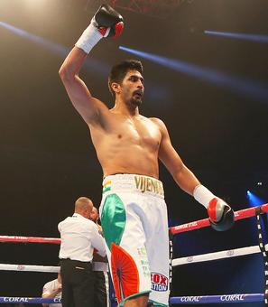 Unbeaten Vijender promises another knockout against Royer?