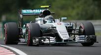 Nico Rosberg takes Hungarian GP pole, edges Lewis Hamilton, Daniel Ricciardo