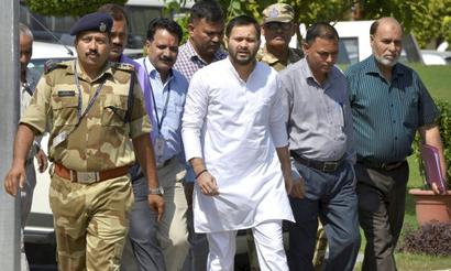 CBI questions Tejashwi Yadav for 7 hours in corruption case