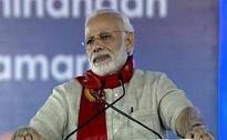 In Gujarat, PM Modi takes a swipe at critics of bullet train