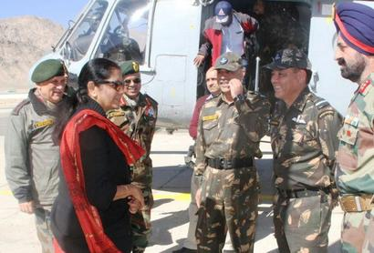Sitharaman reviews progress of Army reform
