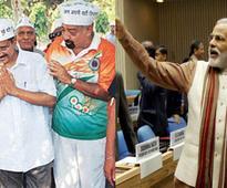 Kejriwal visiting Varanasi on Tuesday, AAP starts door-to-door campaigning to counter Modi