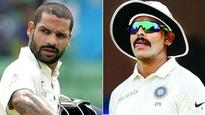 South Africa v/s India: Ravindra Jadeja rushed to hospital with viral illness, Shikhar Dhawan declared fit
