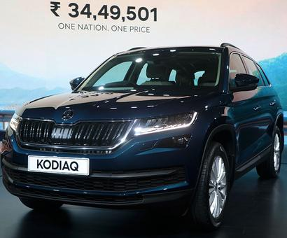 Kodiaq, Skoda's 1st 7-seater SUV, hits Indian roads