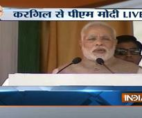 Corruption is the biggest enemy of development, says Narendra Modi in Kargil