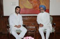Rahul Gandhi meets Manmohan Singh