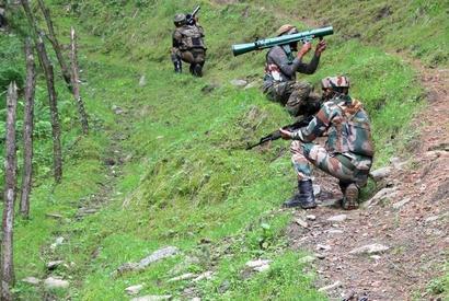 Army foils Pakistan backed terrorist attack on LoC