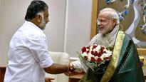 O Panneerselvam meets PM Modi, denies having political discussion