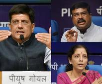 Nirmala Sitharaman, Piyush Goyal, Dharmendra Pradhan join key cabinet committees