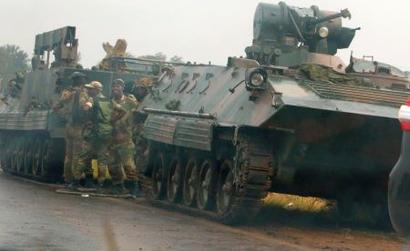 Zimbabwe military denies coup, says President Mugabe safe