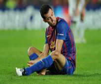 The Rayo Match will miss Barcelona`s Busquets