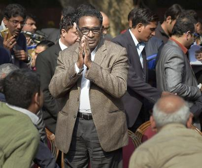 'This press conference is a turning point in modern India's history'