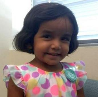 Sherin Mathews' father charged with her murder