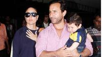 Welcome home! Saif Ali Khan, Kareena Kapoor Khan and baby Taimur's Swiss vacation is over