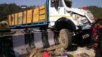 Truck mows into crowd of protesters outside police station in Chittoor, 20 killed