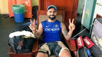 Virat Kohli goes nostalgic about ODI debut, poses with 'special' chair