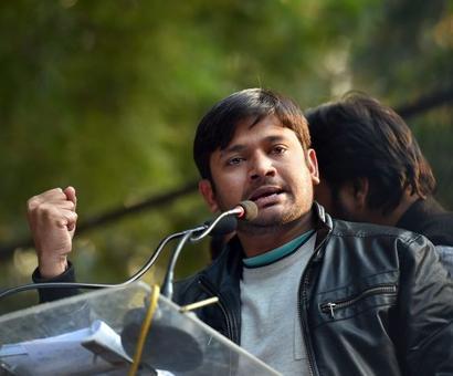 Mevani holds rally in Delhi, says Modi govt 'threat to democracy'
