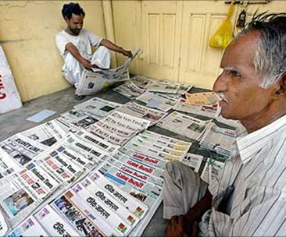Which is the top-selling newspaper in India?