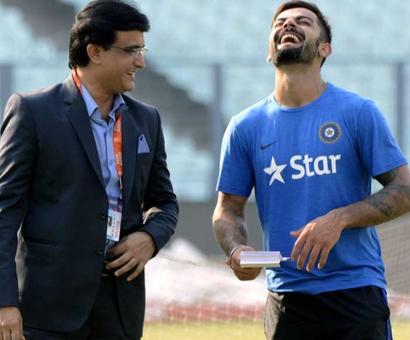 Here's Ganguly's prediction for India v Australia series