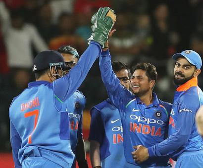 It's double delight for Team India after Port Elizabeth win