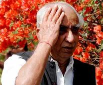 Defiant Jaswant digs heels in: Won't withdraw Barmer nomination