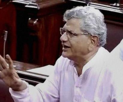 Why PM, Shah silent on stalking by son of BJP leader, asks Yechury