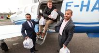 Special delivery: This British ex-pat is flying his favourite curry to southern France
