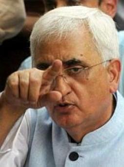 LIVE! Khurshid: Won't apologise, impotent means he failed to do his duty