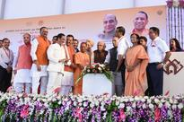 UP CM Yogi Adityanath, Rajnath Singh jointly flag off Lucknow Metro