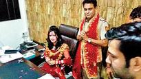 Six Delhi cops face music after Radhe Maa sits in SHO's chair