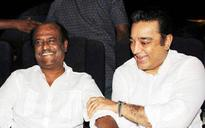 Tamil superstars Rajinikanth, Kamal Haasan trade barbs on mega DMK event
