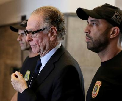 IOC suspends Brazil's Nuzman after arrest over vote-buying allegations