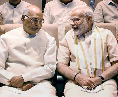 Prez poll: PM congratulates Kovind 'in advance'