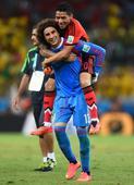PHOTOS: Ochoa steals the show as Mexico hold Brazil