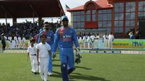 #WIvsIND: Captain Dhoni suggests coming back to play more cricket in the US