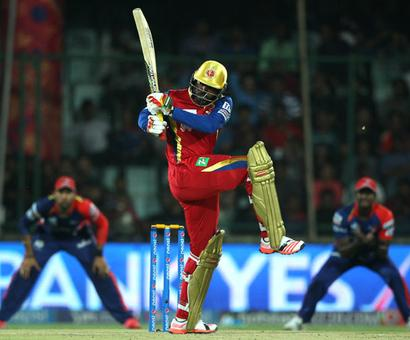 Starc, Gayle help Bangalore crush Delhi by 10 wickets