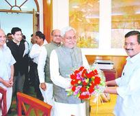 Nitish nudge to merger