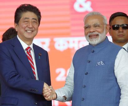 Modi, Abe ask Pakistan to act against 26/11 accused