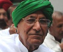 Former Haryana CM Chautala admitted to AIIMS
