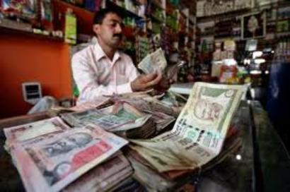 Rupee edges up tracking euro gains