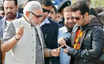 Salman lends a helping hand... to Modi?s finger, not soaring ambition