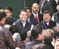 Rahul Gandhi sworn in as Congress president, hits out at PM Narendra Modi