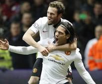 Manchester City Reel Chelsea in, Radamel Falcao Ends Manchester United Wait