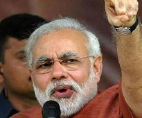 'Sabka vinaash hoga', says Modi about 'secular' rivals