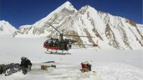 Here's what the Indian Army and Air Force are confronted with in the Siachen Glacier