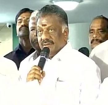 lease vote against trust vote: Panneerselvam's appeal to AIADMK MLAs