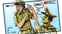 Cop transferred after abusing lady constable